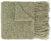 Ami Paris long knitted scarf