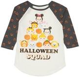 Girls' Tsum Tsum Halloween Long Sleeve Raglan Tee