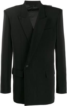 Balenciaga '80s Structured Shoulder Jacket