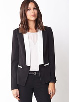 Thumbnail for your product : Forever 21 Contemporary Menswear-Inspired Tuxedo Blazer