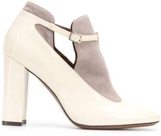 L'Autre Chose Mary Jane block heel pumps