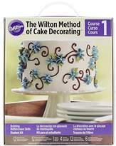 Wilton Course 1 Method of Cake Decorating Buttercream Kit 50 Beautiful Pieces