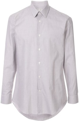 Gieves & Hawkes Checked Formal Shirt