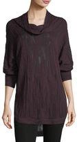 Nic+Zoe Cowl-Neck Knit Top, Plus Size