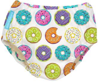 Charlie Banana 2-in-1 Swim Diaper / Training Pants - Donuts - Medium