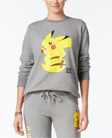 Mighty Fine Juniors' Pokemon Pikachu Graphic Sweatshirt