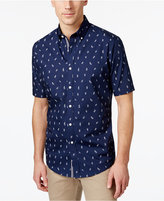 Club Room Men's Big and Tall Knot-Print Shirt, Only at Macy's