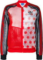 adidas contrast track jacket - women - Polyester - 42