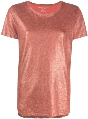 Majestic Filatures shimmering round-neck T-shirt