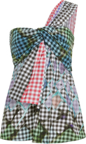 Peter Pilotto Cotton Gingham Top