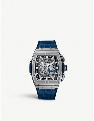 Hublot 601.NX.7170.LR Spirit of Big Bang titanium and alligator-leather watch
