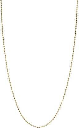 Pragnell 18kt yellow gold Bohemia long-line necklace