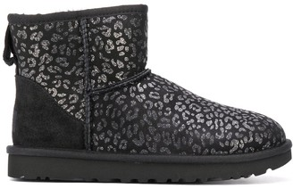 UGG Leopard Print Ankle Boots
