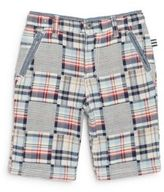 Splendid Little Boy's Plaid Bermuda Shorts