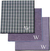 Cathy's Concepts Cathys Concepts Personalized Gingham Handkerchief Set