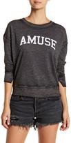 Amuse Society Scholar Long Sleeve Sweatshirt