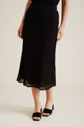 Seed Heritage Pleated Knit Skirt