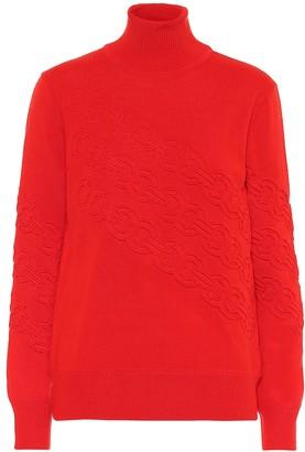 Tory Burch Gemini merino wool sweater