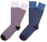 Etiquette Clothiers Thousand Stripes Socks (2 PK)
