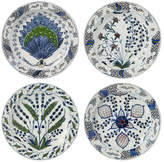 OKA Porcelain Dinner Plates - Isphahan Set of 4