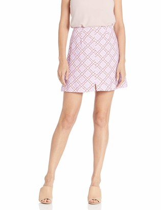 Finders Keepers findersKEEPERS Women's Nostalgia A-line Checkered Short Mini Skirt