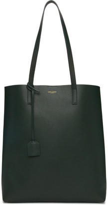 Saint Laurent Green North/South Shopping Tote