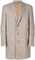 Canali classic coat - men - Silk/Polyamide/Cupro/Alpaca - 50
