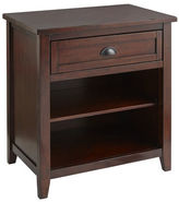 Pier 1 Imports Torrance Mahogany Brown Nightstand