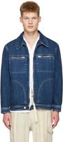 Loewe Indigo Denim Zip Jacket