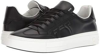 Salvatore Ferragamo Borg Sneaker (Nero) Men's Shoes