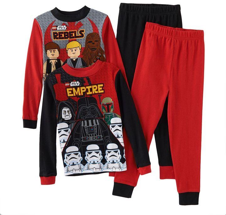 Star Wars Lego galactic enemies 4-pc. pajama set - boys 6-12