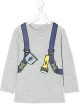 Stella McCartney torch printed top - kids - Cotton - 2 yrs