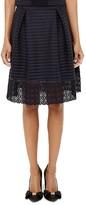 Ted Baker Lotee Mesh-Stripe Skirt