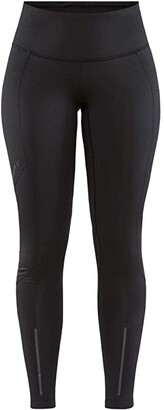 Craft ADV Essence Warm Tights (Black) Women's Casual Pants