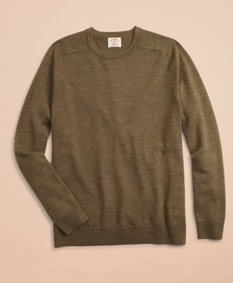Brooks Brothers Merino Wool Crewneck Sweater