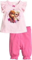 H&M Jersey Pajamas - Light pink/Frozen - Kids