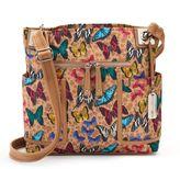 Rosetti Springdale Logo Tassel Crossbody Bag
