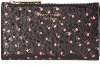 Kate Spade Sylvia Meadow Small Slim Bifold Wallet