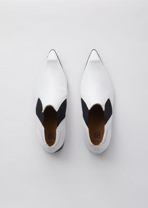 Comme des Garcons CDG John Fluevog Swordfish Chelsea Boot White