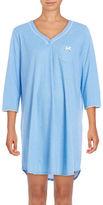 Karen Neuburger Patterned Sleepshirt