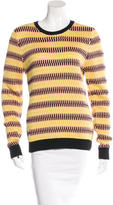 Jonathan Saunders Striped Knit Sweater