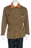 Mulberry Leather-Trimmed Chore Jacket