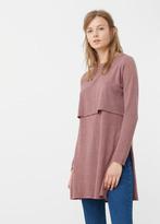 MANGO Double-Layer Sweater