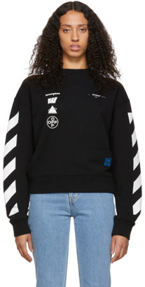 Off-White Black Diag Mariana De Silva Over Sweatshirt