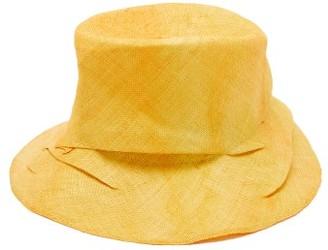 Reinhard Plank Hats - Bucket Folded Straw Hat - Orange