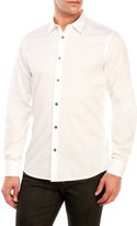 Just Cavalli White Sport Shirt