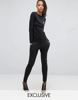 Puma Exclusive To ASOS Lounge Slouchy Jumpsuit