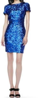 Naven Blue Sequin Dress