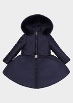 Versace Embossed circle Parka Coat
