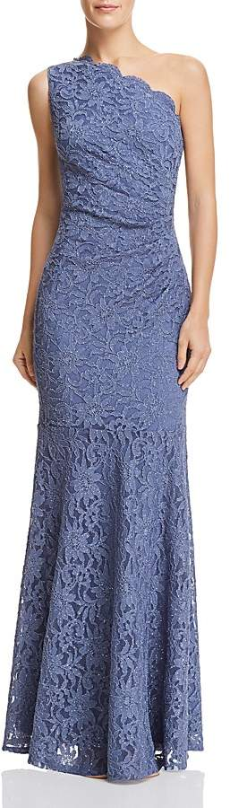 Decode 1.8 One-Shoulder Lace Gown